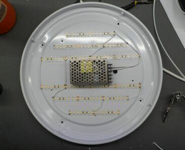 předělání svítidla na LED